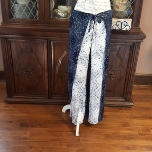 Bohemian summer style flowy pant Size 11-13